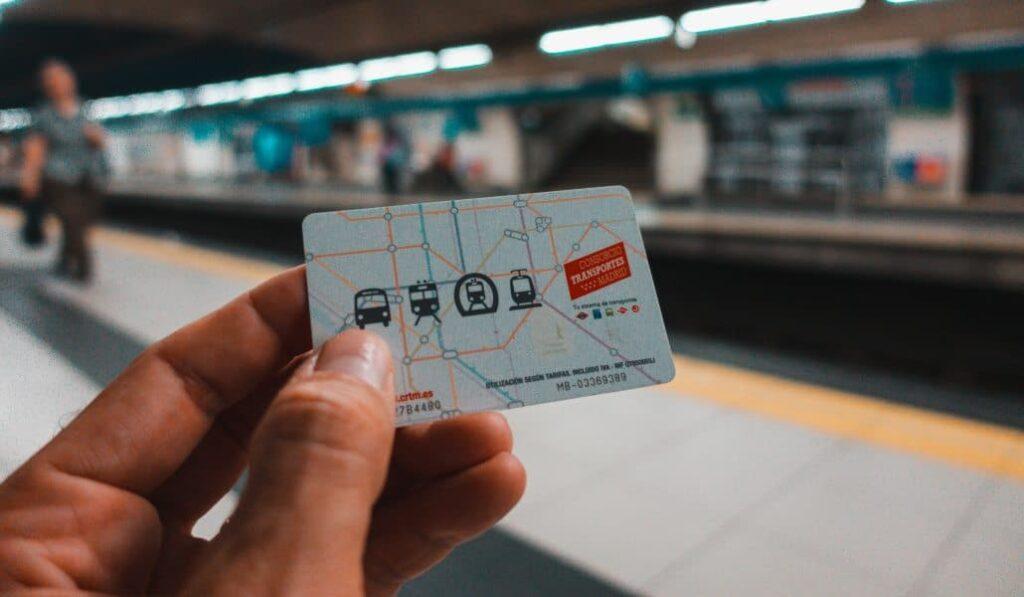 Tarjeta Metro Madrid